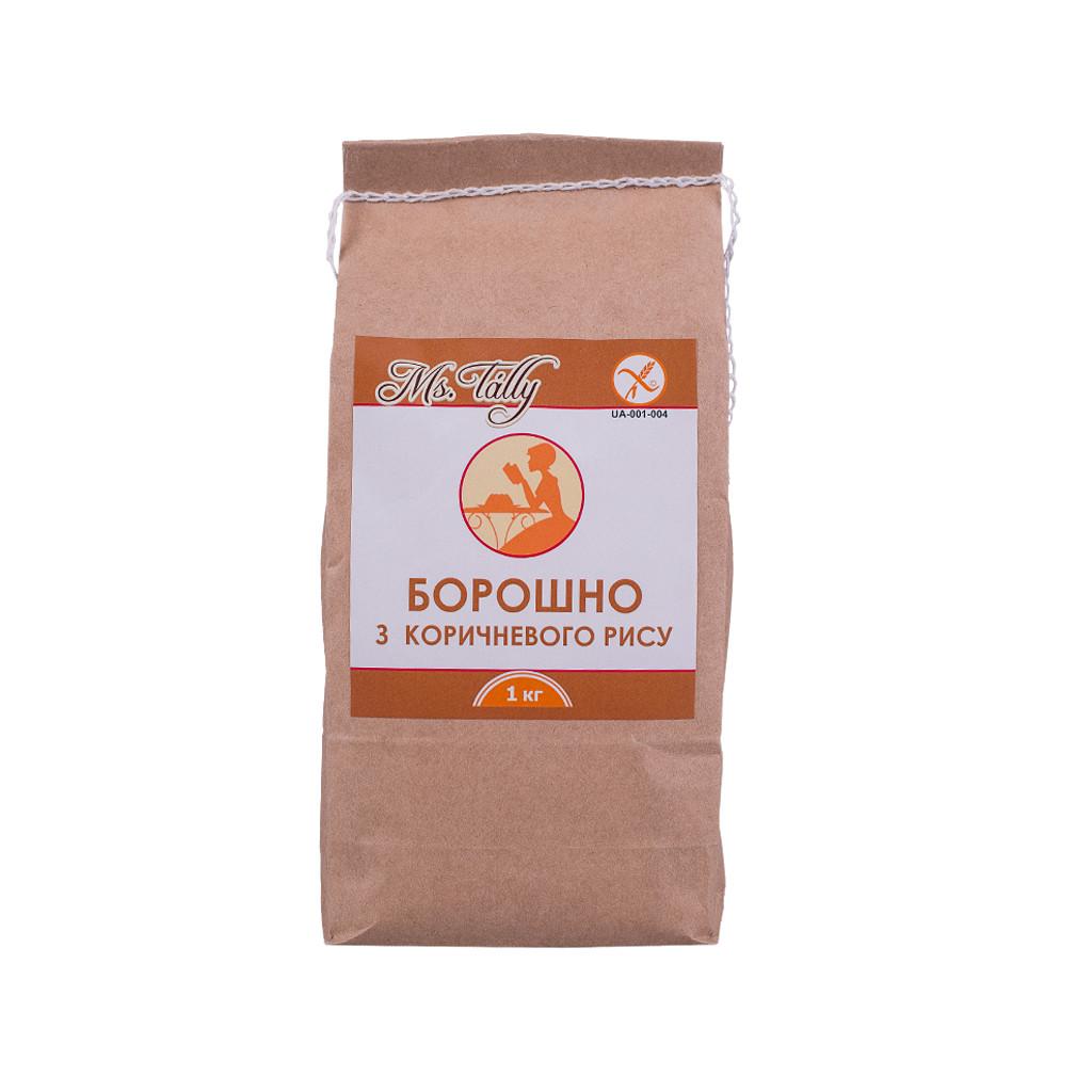 Борошно з коричневого риса
