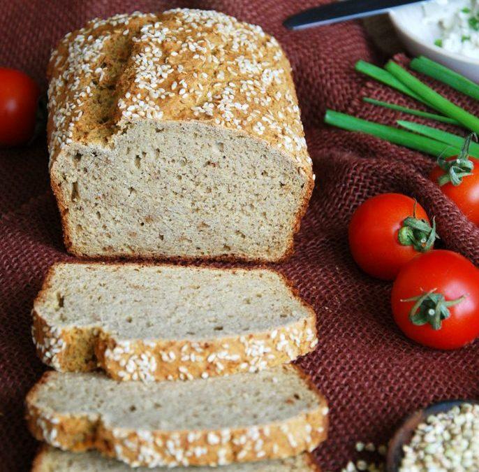 Гречаний хліб без глютену