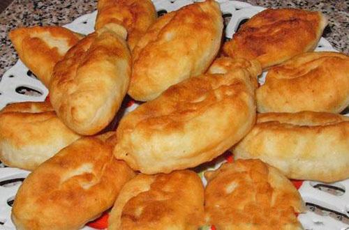 Пиріжки безглютенові з картопляною начинкою